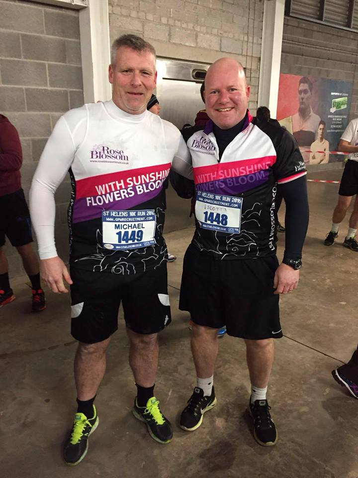 Mike & Scott St Helens 10k